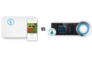 Rachio vs Skydrop smart sprinkler controllers